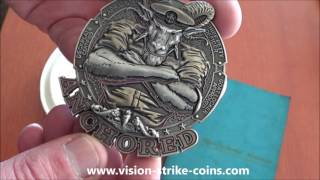 US Navy Chief Anchored Coins