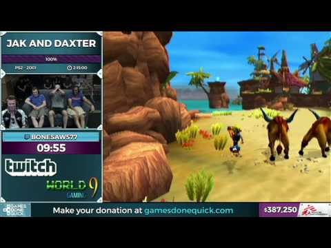 Jak and Daxter by Bonesaw577 in 2:11:18 - SGDQ2016 - Part 104