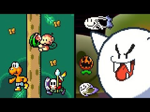 New Super Mario World (SMBX 1 4 4) ''Volcano Crisis''  HD - смотреть