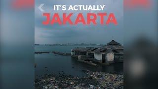 Sebuah Video Memprediksi Kota Jakarta Akan Tenggelam, Penyebabnya Padahal Sering Dibanggakan Warga