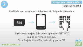 Liberar móvil Samsung E1153 | Desbloquear celular Samsung E1153