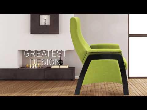 Šūpuļkrēsls Balance 1, pelēks/ melns cena un informācija | Krēsli viesistabai | 220.lv
