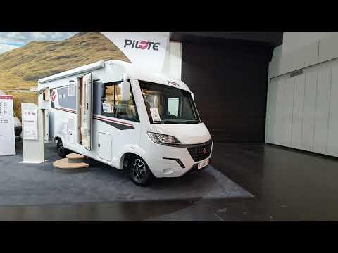 2022 integrated Pilote motorhome range