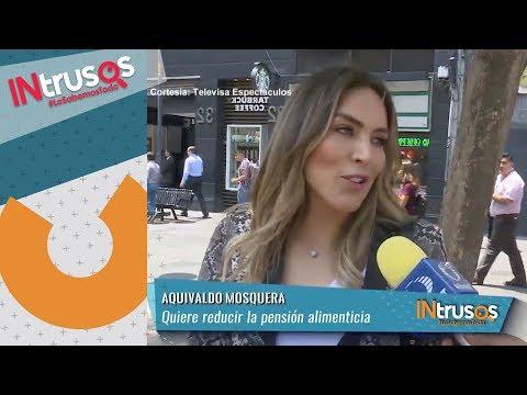 Karla Pineda asegura Aquivaldo tiene más de un año de incumplir la pensión | INtrusos