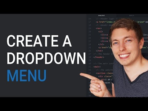 Download How to Create an HTML Dropdown Menu   Learn HTML and CSS   HTML Tutorial   HTML for Beginners HD Mp4 3GP Video and MP3