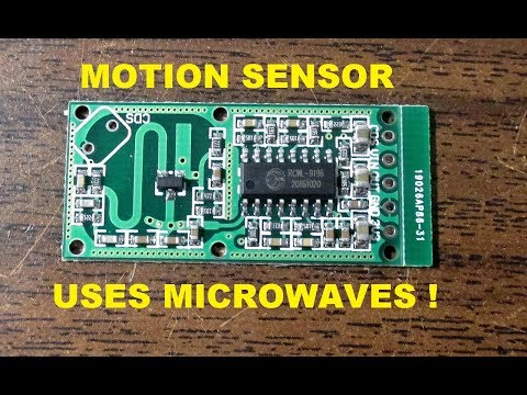 Amazing $1 microwave RF motion sensor board review and test