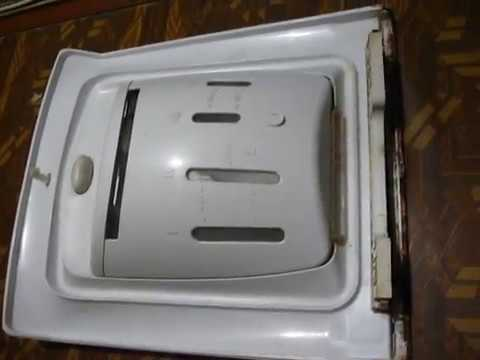 Секреты разборка крышки стиральной машинки с вертикальной загрузкою Indesit Witl 106/86