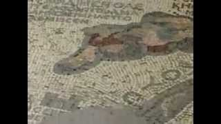 preview picture of video 'Tours-TV.com: Ancient mosaic map of the Holy Land'