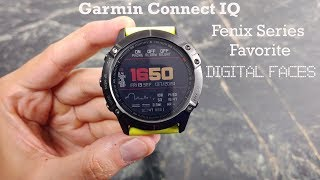Garmin fenix 5 watch faces