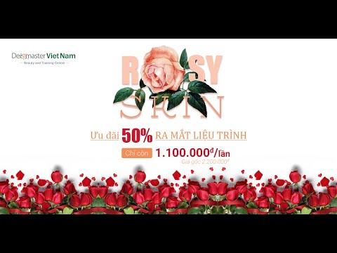 Liệu trình Rosy Skin - Làn da hoa hồng
