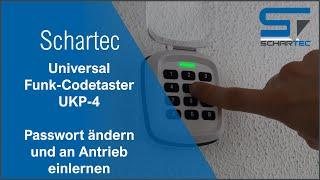 Universal Funk-Codetaster UKP-4 | Schartec | einstellen & anlernen