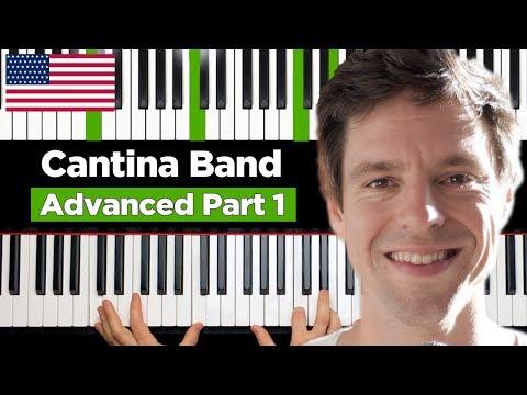 Cantina Band - STAR WARS - Piano Tutorial HARD - Part 1