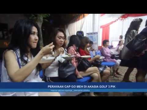 Perayaan Cap Go Meh di Akasia GOLF 3 PIK