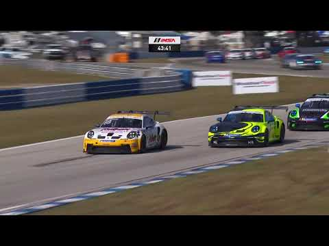 IMSA セブリング ポルシェカップ レース2の動画