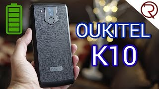 The Battery King! - 11000mAh - Oukitel K10 Review