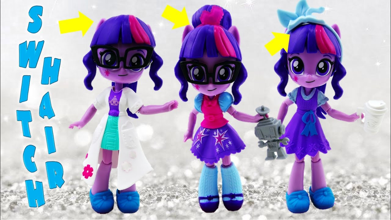 My Little Pony Equestria Girls Minis Twilight Sparkle Sci-Twi Switch 'n Mix Fashions Playset Review