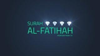 Surah Al Fatihah | Quran Gems | Nouman Ali Khan
