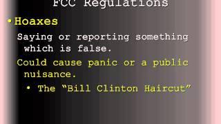 FCC Regulations/Station Rules