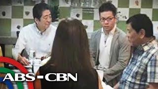TV Patrol: Japan PM Abe, nag-almusal sa bahay ni Duterte sa Davao
