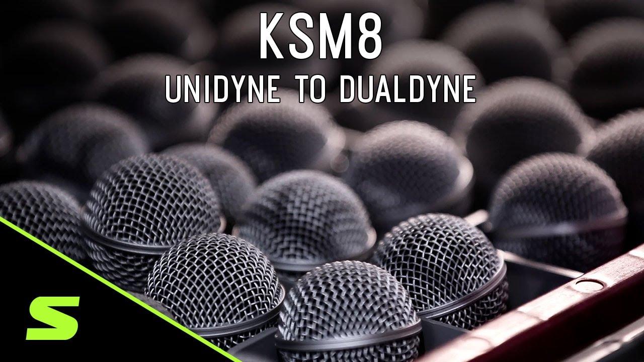 Shure KSM8 - Undiyne to Dualdyne
