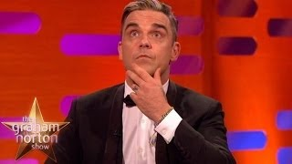 Robbie Williams Compares Childbirth to his Favourite Pub Burning Down - The Graham Norton Show