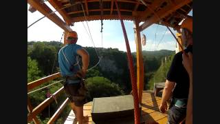 preview picture of video 'Zip Line PAZIN, Croatia'