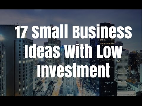 , title : '17 Small Business Ideas With Low Investment