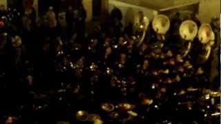 "Nubbelverbrennung 2012 - Big Band playing ""Corona - Rhythm of the Night"""