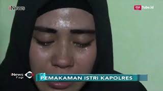 Kedatangan Jenazah Istri Kapolres Tulungagung Di Subang Disambut Isak Tangis - INews Pagi 29/09