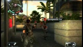 Lets Play Just Cause 2 (German) - Climbing On The Casino Tower