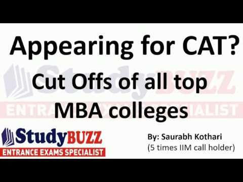 Appearing for CAT? Cut offs of all MBA colleges