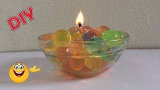 How To Make Beautiful Water Candle | Home Decor | DIY Ideas | Best Craft Idea