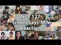 """NCT 127 엔시티 127 'Simon Says' MV """"Reaction Mashup"""