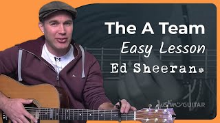 How to play The A Team by Ed Sheeran (Guitar Lesson BS-907)