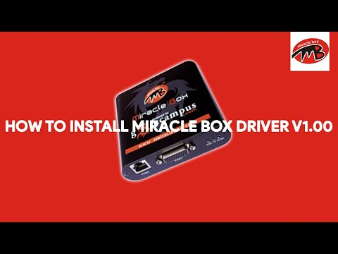 How To Install Miracle Box Driver v1.00 - [romshillzz]