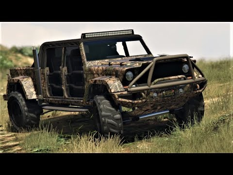 E292 Our Canis Kamacho 'Offroad Hunter' Detailed Customization Review! - Lets Play GTA5 Online 60fps
