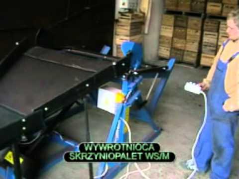 MCMS Kippvorrichtung für Palettenkisten / Kistenkipper / Kistenkippgerät