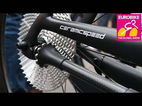 CeramicSpeed DrivEN 99% Efficient Drive Shaft // Chain Free Bike // Eurobike 2018
