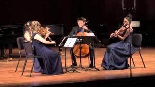 Kodaly: String Quartet No. 2 in C minor, Op. 2, Movement III, Presto