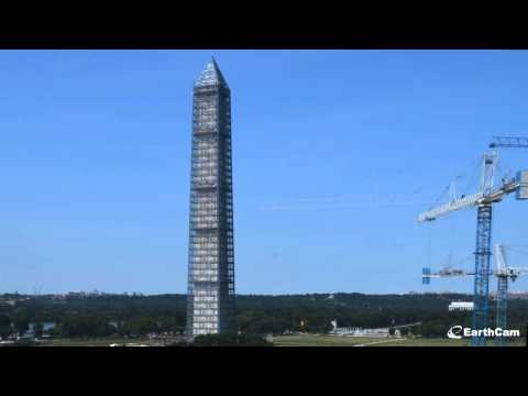 This 80-Second Video Shows A Year Of Washington Monument Repairs