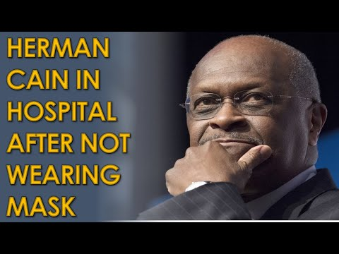 Herman Cain In Hospital with COVID-19 After not wearing Mask at Trump's Tulsa Rally