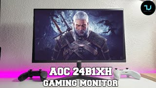 AOC 24B1XH Review/Unboxing/Gaming test! Best budget monitors in 2020/Xiaomi/AOC alternative!