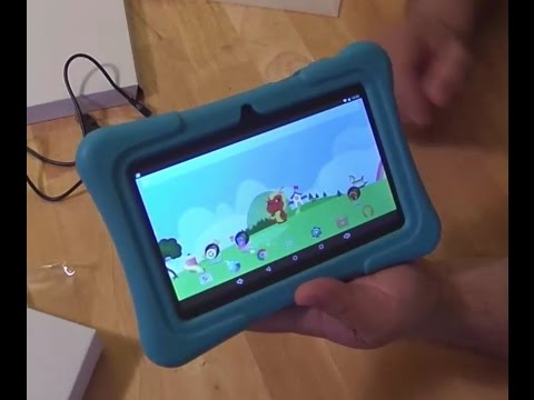 Unboxing and overview of the Dragon Touch Kids Tablet 7 inch Kidoz Y88X Plus