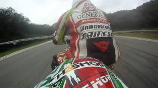 Kawasaki MiniGP 2013 Ninja 250 onboard With Ball H2Shop Racing Team