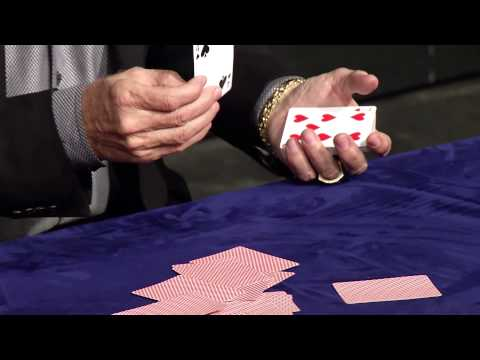 Have you ever seen the second card DEALT in