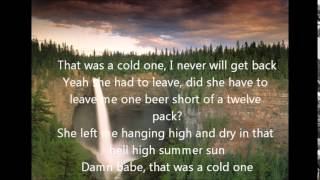 Eric Church Cold One Lyrics