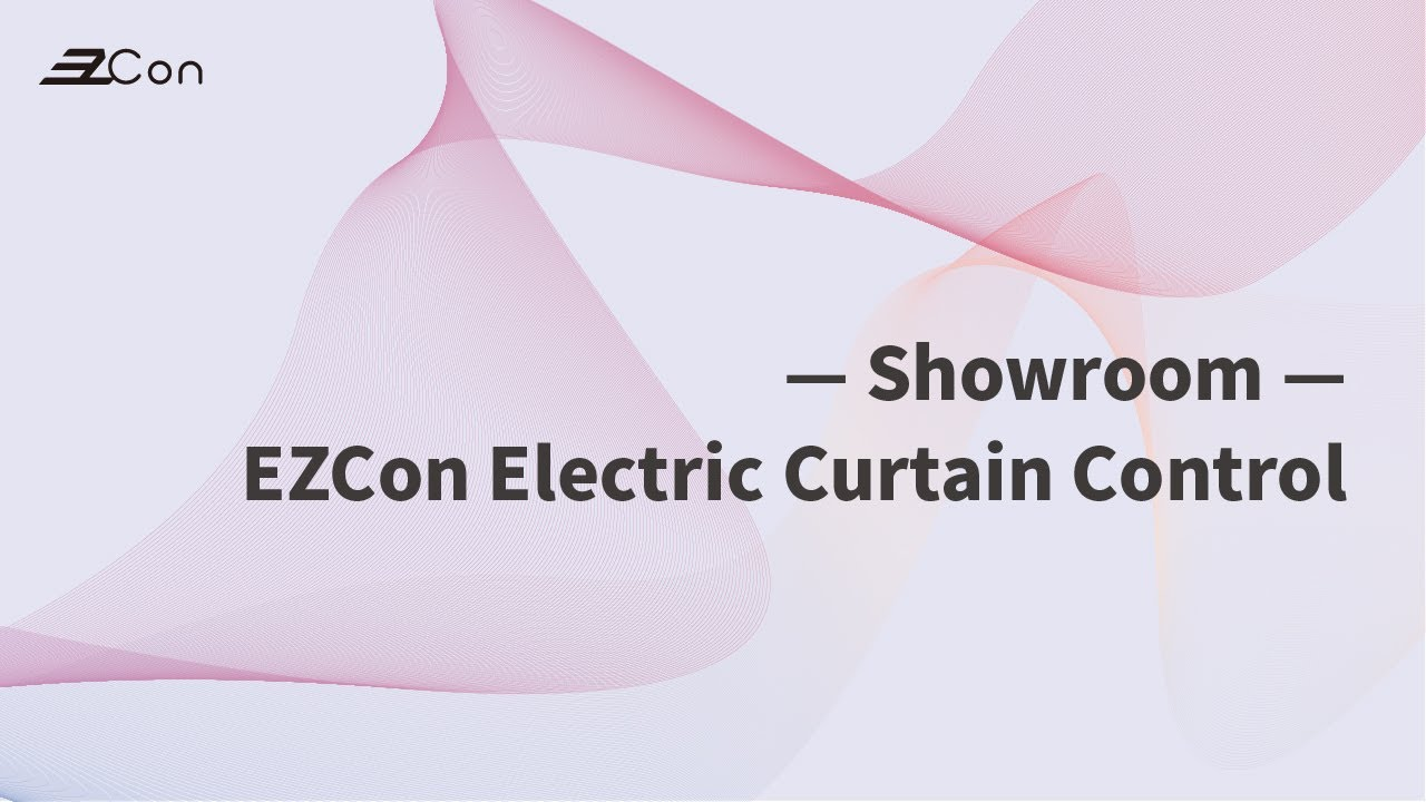 Control remotely electric curtain by EzCon