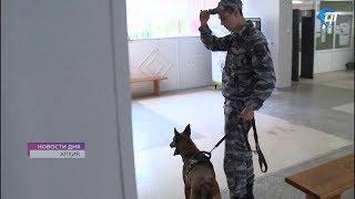 Сотрудники полиции обеспечивают безопасность в период подготовки и проведения Единого дня голосования