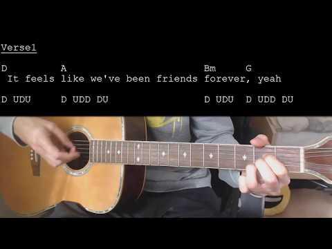 Jason Mraz - More Than Friends feat. Meghan Trainor EASY Guitar Tutorial With Chords/Lyrics