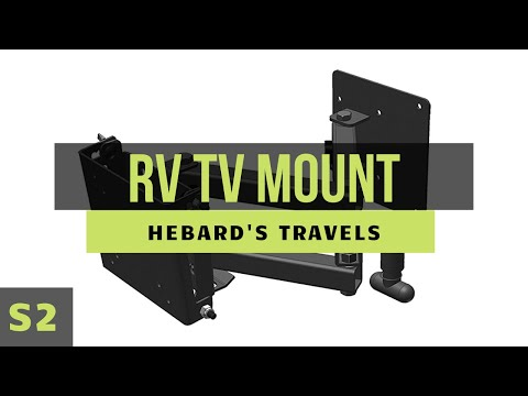 RV Nomad Life | MorRyde Extending Swivel Wall TV Mount (Install and Review)